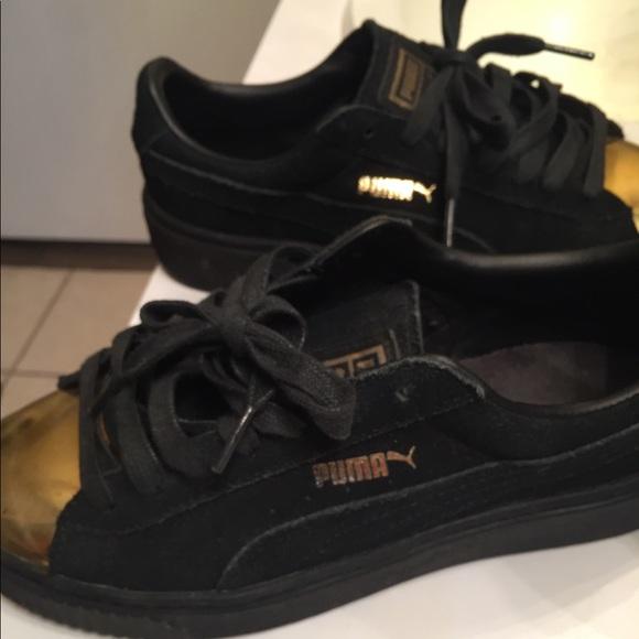 Puma Shoes | Wmns Pumas Suede Black